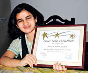 Hannan Binth Hashim, a tenth standard girl in Kozhikode, Kerala has questioned the accuracy of Einstein's theories