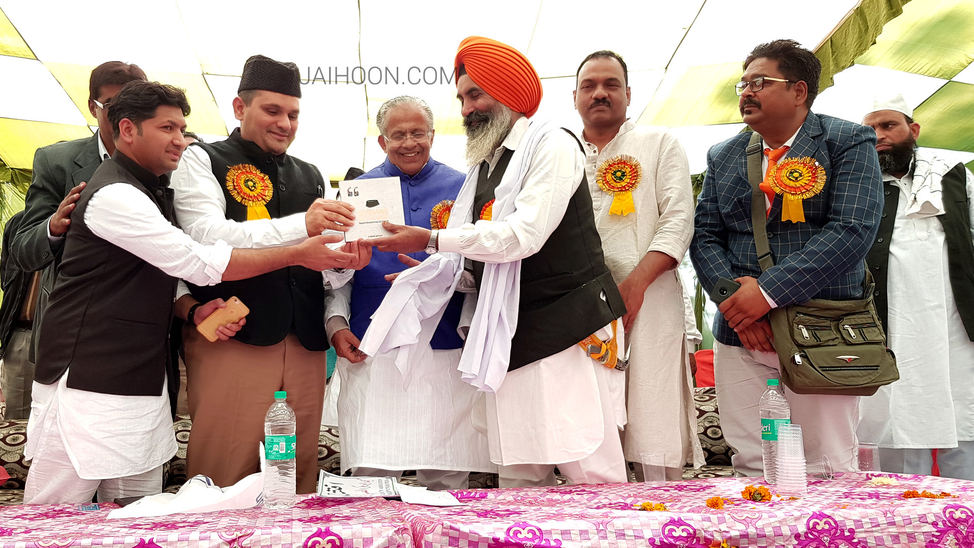 Slogans of the Sage Presented to Harish Singh, priest of local gurudwara in Mansa