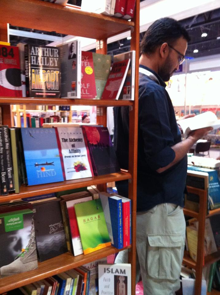 Jaihoon books at Abu Dhabi International Book Fair
