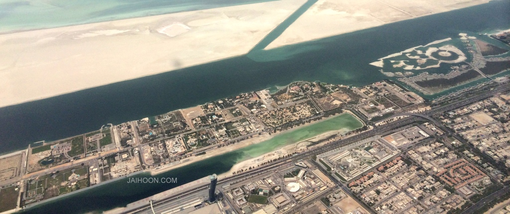 Bahrain from the skies