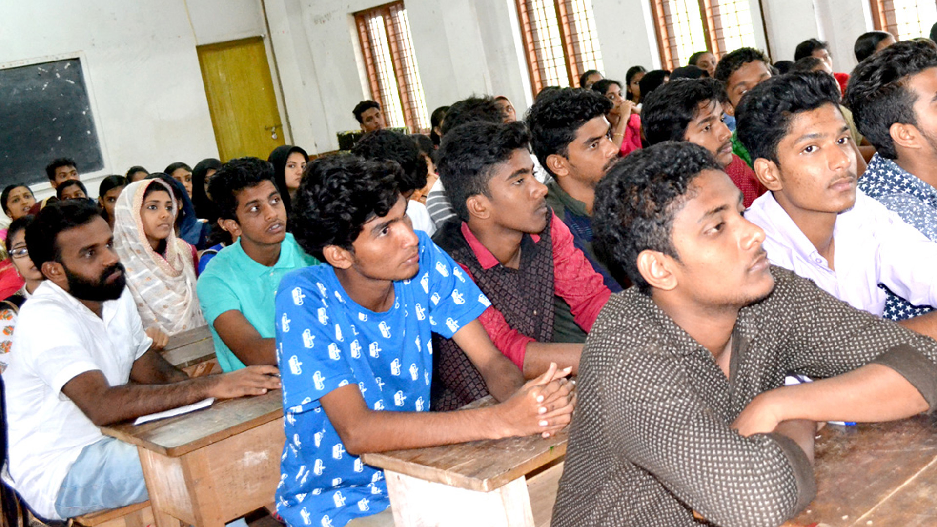Jaihoon's interactive session at Ideal Arts and Science College, Cherpulassery, Kerala –India