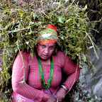 Native Nepali woman