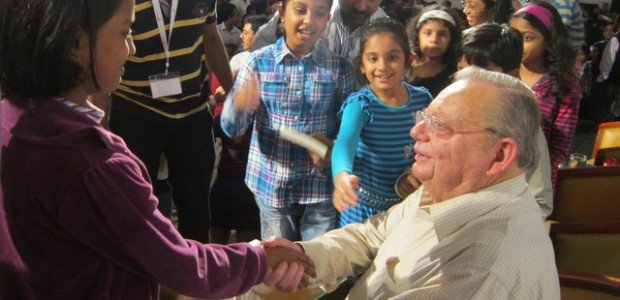 Notes from the Ruskin Bond meet at the Sharjah International Book fair 2011