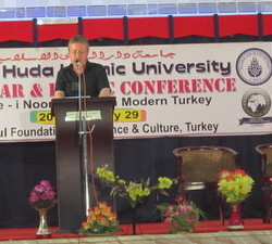 Dr. Colin Turner at Said Nursi conference (Jan 29 2012)