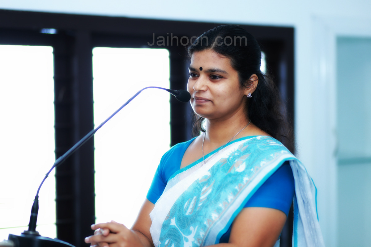 M. Haripriya, Mahila Congress State general secretary, Women's Day at EMEA College of Arts & Science, Kondotty