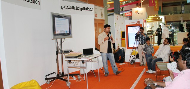 Sharjah-based poet Mujeeb Jaihoon described the emerging passion for e-books as 'a gift of God' to preserve the ever diminishing number of trees on earth