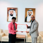 Sharjah Book Authority honours Mujeeb Jaihoon's literary contributions (2018)