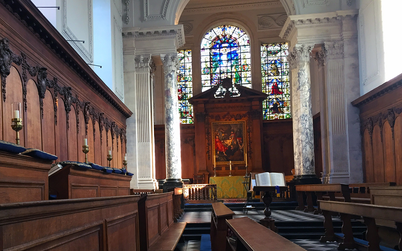 Chapel in University of Cambridge