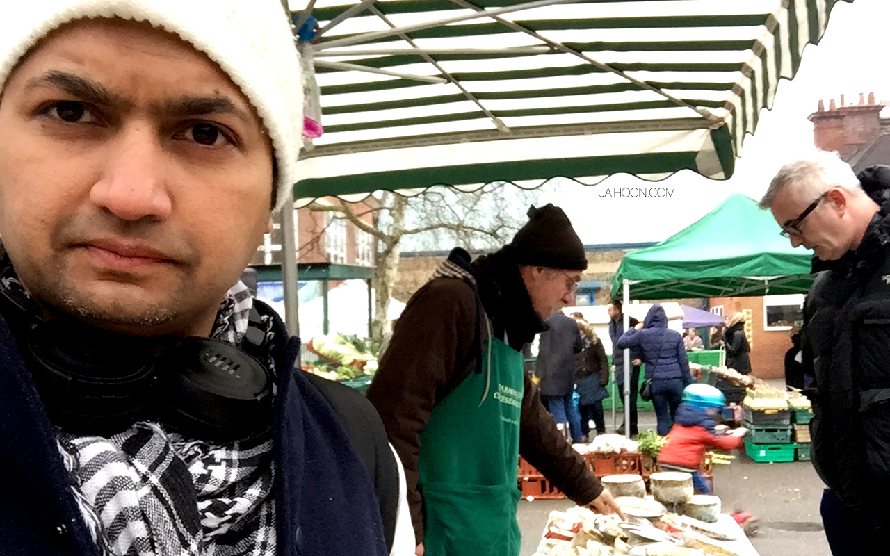 Queens Park Farmer's Market, Salusbury' - London