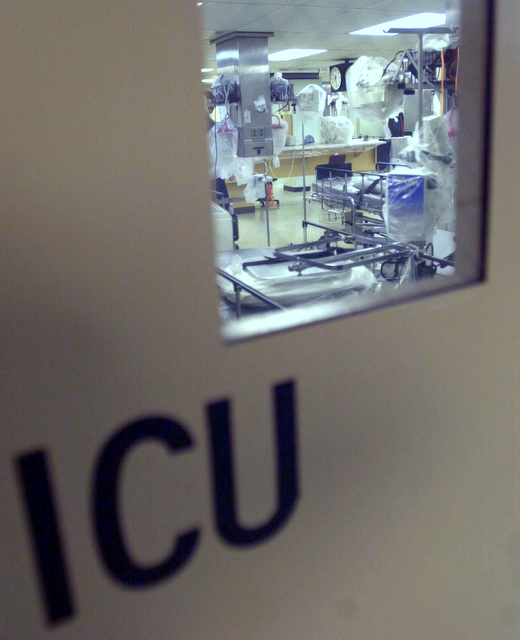 Her every vein protested with pain. And now she was asking one of her sons to look after his medication, writes Jaihoon on a visit to the ICU