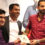 Jaihoon Gifts Book of Aphorisms to Irfan Pathan