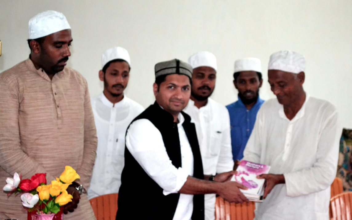 Jaihoon inaugurates Book Train Campaign, Darul Huda Bengal Off campus