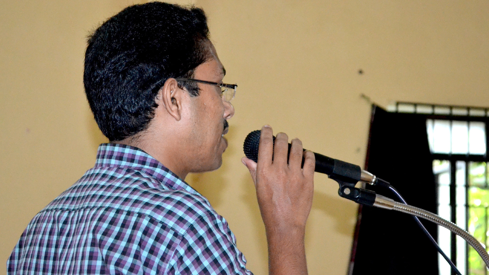 Jaihoon's interactive session at Muhammed Ali Shihab Thangal Memorial (MSTM) Arts and Science College, Perinthalmanna, Kerala –India
