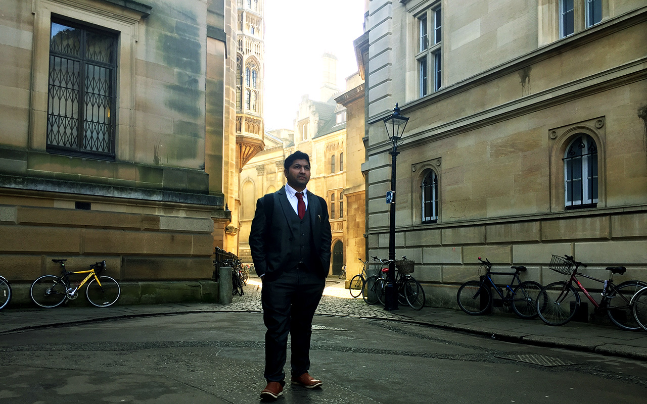 Jaihoon at University of Cambridge
