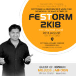 Guest of Honour at FESTORM 2K18