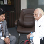 Mujeeb Jaihoon in conversation with KKN Kurup