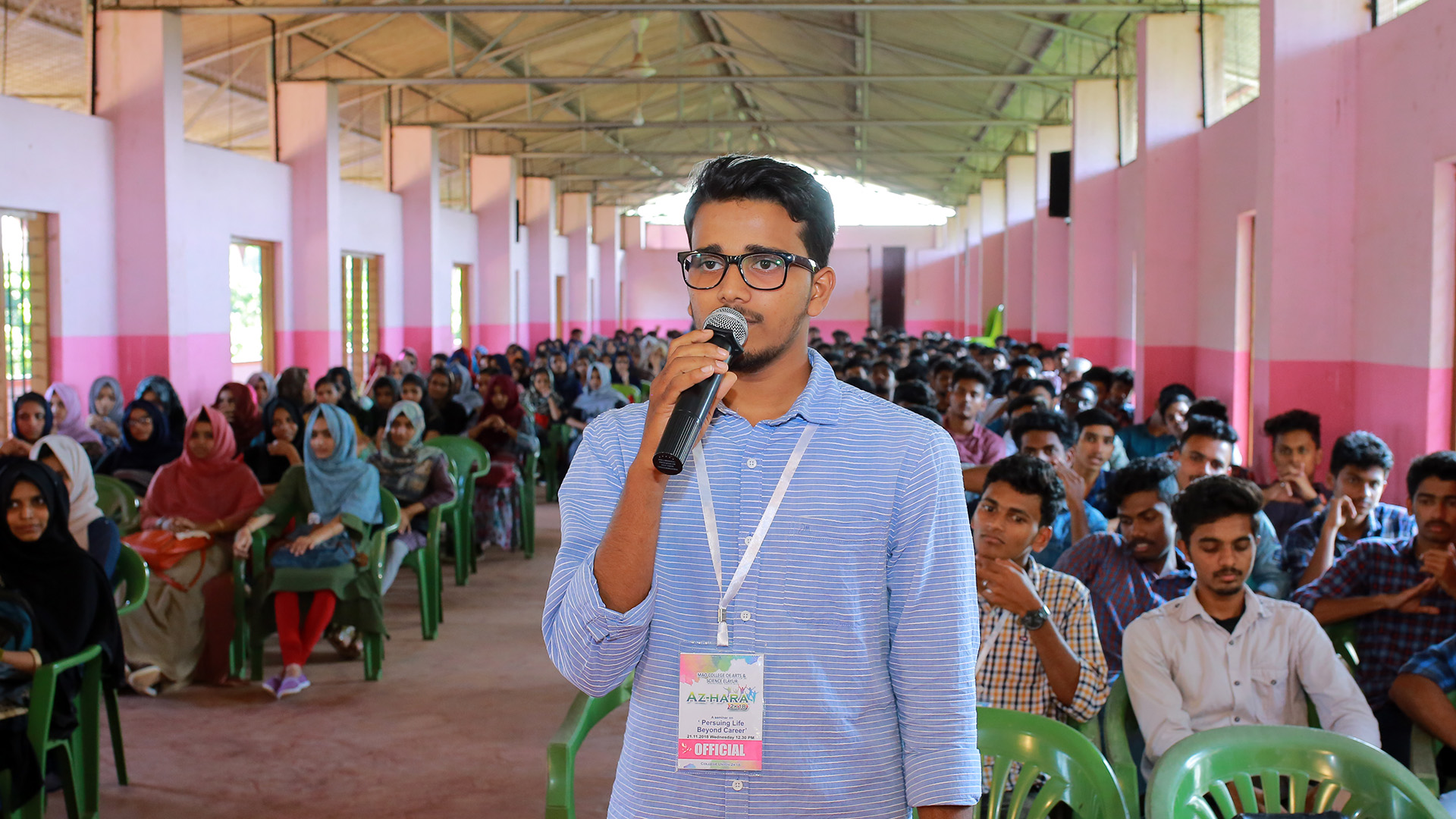 Jaihoon at MAO College— Elayur - Malappuram