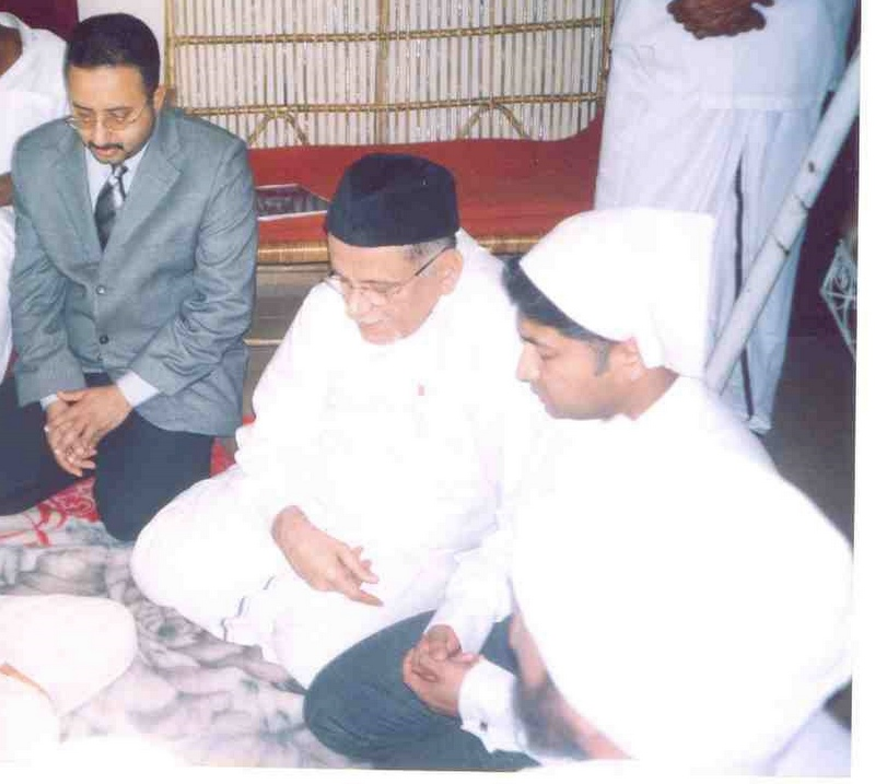 Shihab Thangal conducting Jaihoon's nikah (Jan 15 2004)