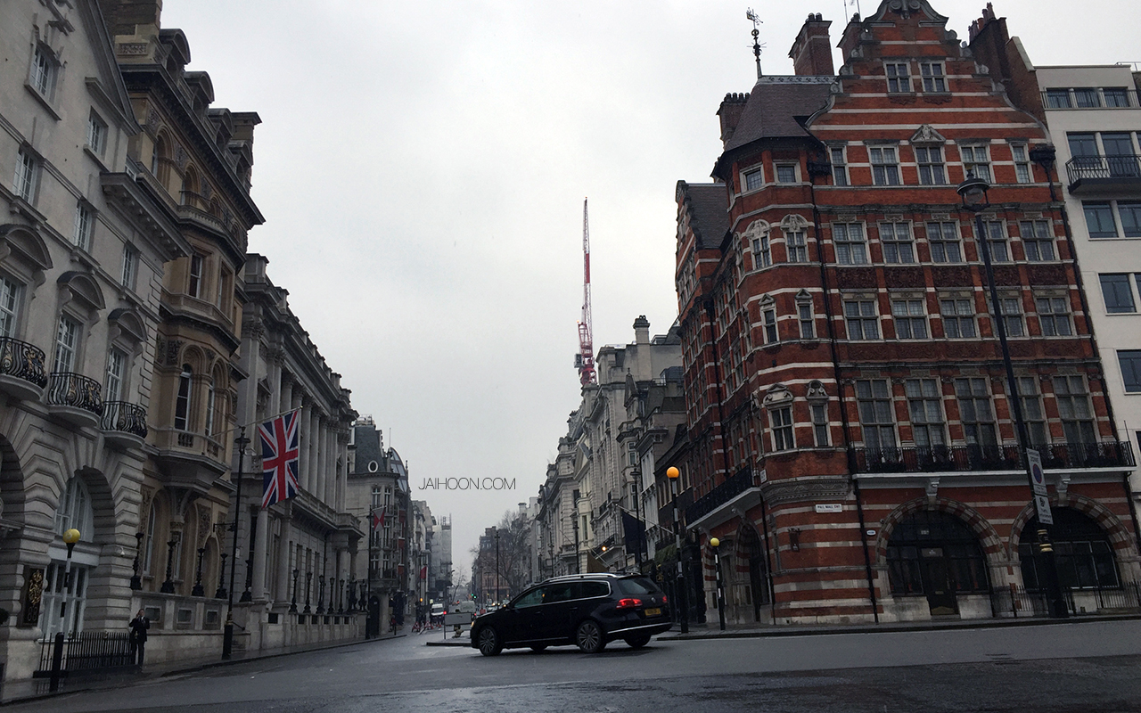 Pall Mall, London