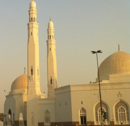 Sheikh Saud mosque in Sharjah
