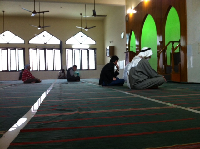 Inside Butt Road masjid