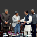 Rahul Gandhi presented with 'Slogans of the Sage'