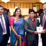 Slogans of the Sage presented to Canara Bank Chairman