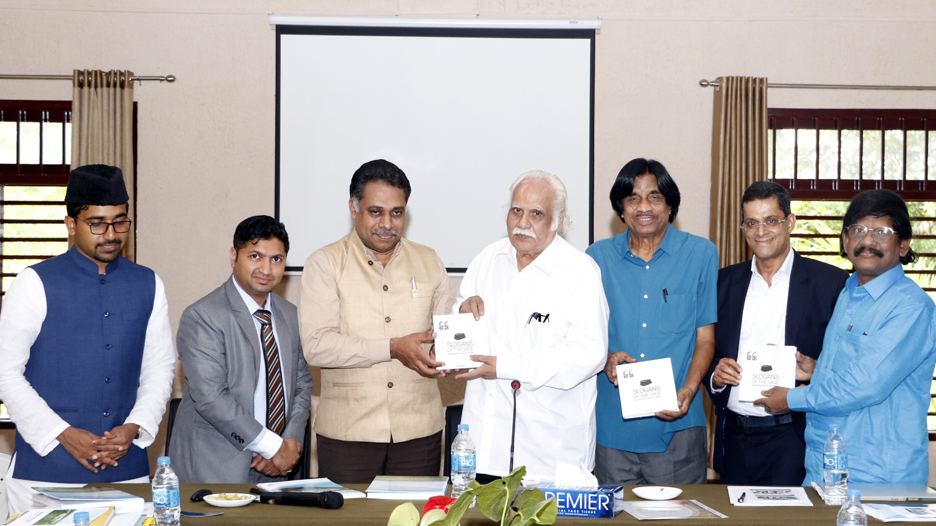 Dr. E Balagurusamy (Former Vice Chancellor, Anna University, Chennai, and President of the Coimbatore Academy of Sciences), Dr. K K N Kurup (Renowned historian and former Vice Chancellor, Calicut_University), Dr. M Dasan (Former Registrar, Kannur University) and Dr. Saji Gopinath (CEO, Kerala Startup Mission, Govt of Kerala) and Dr. Alungal Mohammed (Chairman, Al Abeer Group)