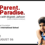 My Parent. My Paradise: Book Talk with Mujeeb Jaihoon
